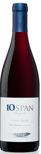 10 Span Vineyards Pinot Noir Central Coast 2010 750ml -...